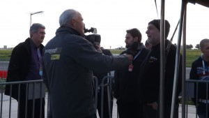 interview with organiser